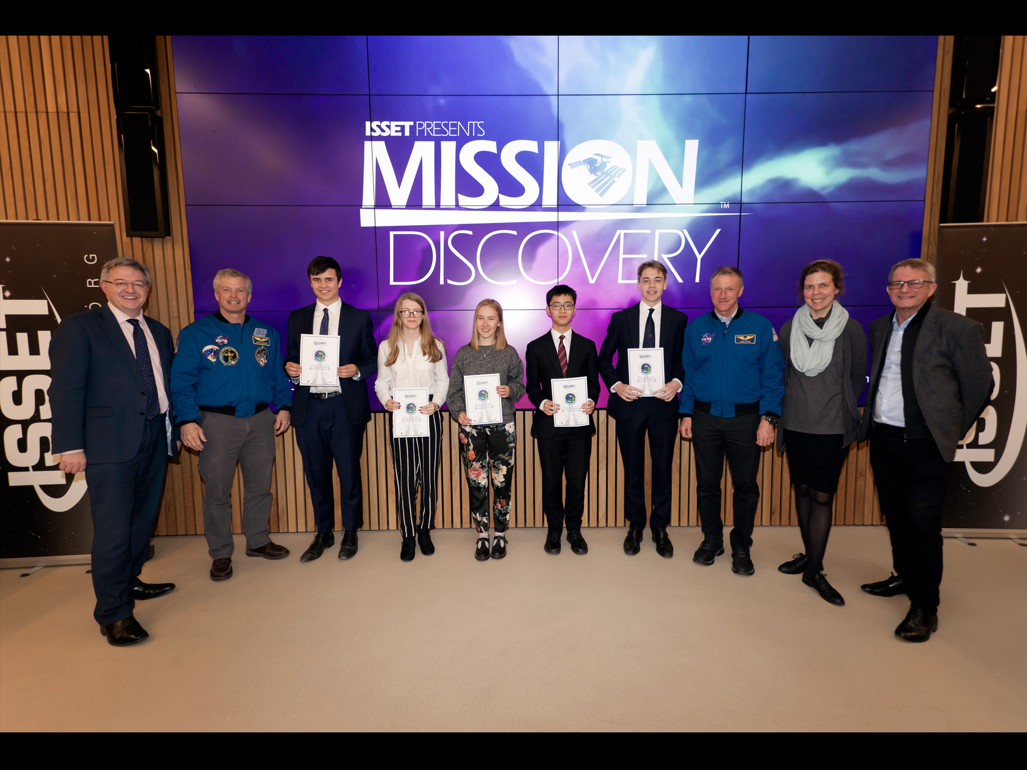 ISSET - Mission Discovery, Summer School, Space Camp, STEM